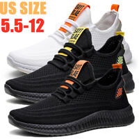 Men's Athletic Shoes Fashion Casual Running Sports Tennis Sneakers Breathable US