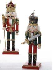 2 Soldiers Nutcracker Christmas Ornaments by Kurt Adler