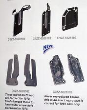65-66  MUSTANG Quarter Panel Post Seal Pair C5ZZ6528182 with screws