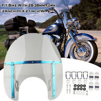 Pare Brise Detachable for Harley-Davidson Road King / Classic/ 1993-2018