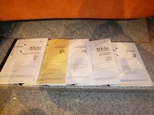 5 x RICOH Aficio 3224C/3232C Handbücher - NEU