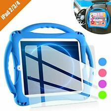 TopEsct iPad 2 Case for Kids, Shockproof Silicone Handle Stand Case Cover&(Tempe