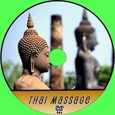 THAI MASSAGE SKILLS TECHNIQUE DVD EASY TO FOLLOW EXPERT TRAINING 4 BEGINNERS NEW