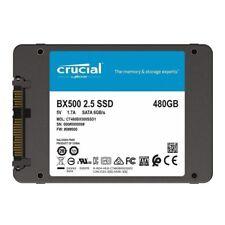 "New Model Crucial BX500 480GB 2.5"" SATA Internal Solid State Drive SSD 540Mb/s"