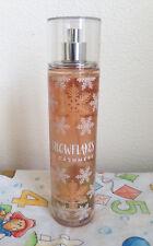 Bath & Body Works Snowflakes & Cashmere Fragrance Mist Vanilla 8oz 236ml New
