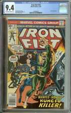 IRON FIST #10 CGC 9.4 OW/WH PAGES