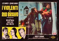 Fotobusta I Gewalttätigen Von Rio Bravo der Schatz Der Azteken Lex Barker Karl 3