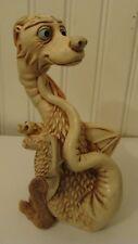 Harmony Kingdom Tamira'S Treasure Dragon Holding Baby #275/3600, Signed, 2001