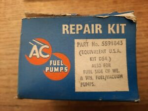 AC Fuel Pump Repair Kit 5591843 BD54 D54 GENUINE