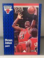 MICHAEL JORDAN HOF 1991-92 Fleer #29 Chicago Bulls LAST DANCE GOAT RARE GEM MINT