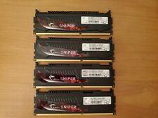 G.Skill PC3-12800 4 GB DIMM 1600 MHz DDR3 SDRAM Memory (F3-12800CL9D-8GBSR)