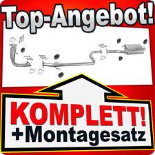 Auspuff ROVER 400 (RT) 420 Di 420d Schrägheck +Rohr Auspuffanlage J06