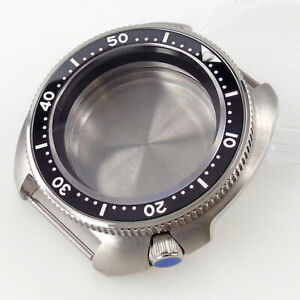 Sapphire Watch Case Ceramic Bezel 200m Water Resistance For NH35A NH36A movement
