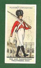 The LAW ASSOCIATION VOLUNTEERS 1803 Territorial Army Uniform 1939 original Card