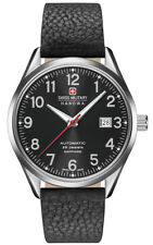 Swiss Military Hanowa helvetus 05-4287.04.007 señores Automatic reloj cristal zafiro