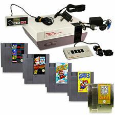NES - Nintendo ES Klassik Konsole Controller Zubehörpaket & Spiel frei wählbar