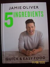 Jamie Oliver 5 Ingredients ~ Quick & Easy Food Hardcover Cookbook