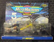 1995 Galoob BABYLON 5 Micro Machines #1 MOC C-7.5 Space Station Transport Green
