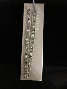 SILPADA B3083 LAYERS OF LUXURY WRAP BRACELET BUTTON CLOSURE NEW