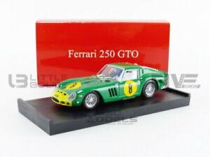 BRUMM 1/43 - FERRARI 250 GTO - GP ANGOLA LUANDA 1962 - R564