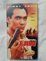 MARSHAL LAW (VHS 1996) RARE (OOP) SCREENER COPY Jimmy Smits, Kristy Swanson. HTF