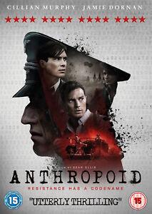 Anthropoid (Cillian Murphy Jamie Dornan) Region 2 DVD New