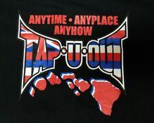 MMA Hawaii Tap U Out Black T-Shirt Mens 5XL T 5X - BJJ UFC Muay Thai Kickboxing