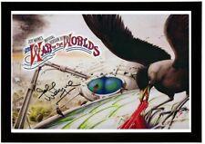More details for (192) jeff wayne war of the worlds signed photograph framed unframed  (reprint)