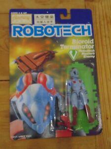 Robotech Defense Force Bioroid Terminator Carded Matchbox Harmony Gold