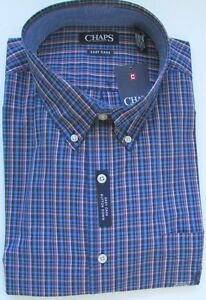 NWT Chaps  Button Down Casual Shirt Easy Care Sizes S M