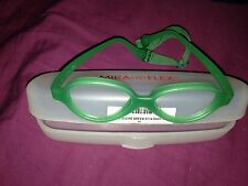 New Mira Flex MiraFlex Baby One Frames Color Clear Green VC Strap Age 1-3  37/14