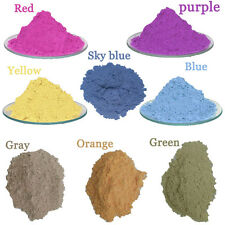 8col/lot  1g Photochromic Solar Pigment Sun Activated Color Changing Powder Car