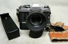 Nice CANON AE-1 35mm SLR Film Camera w/ 50mm f/1.8 FD Lens & Power Winder A