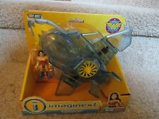 Imaginext DC Super Friends Fisher Price Wonder Woman Invisible Jet Airplane NEW