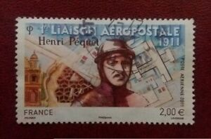 FRANCE Europe 2011 Postally Used Aeropostale First Flight Pequet 1798