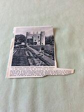 m5-1 ephemera 1943 ww2 picture boarstall tower e e cook national trust
