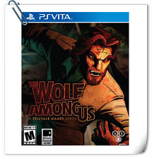 PSV THE WOLF AMONG US PlayStation VITA Telltale Action Games