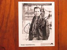 "JEFF   FAHEY  (""The  Marshal""/""Lost"")   Signed   8"" X 10""   B & W Glossy  Photo"