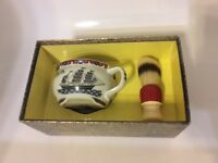 VINTAGE Mohawk Shave Bowl and Shaving brush in original display box ,new sticker