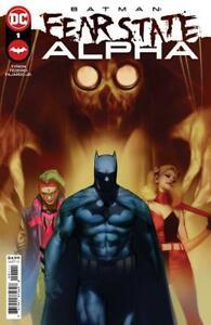 BATMAN FEAR STATE ALPHA  #1   DC Comics 2021 1st Print NM