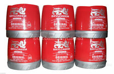 6 x 250ml Brylcreem Brylcream Original Hair Styling Cream