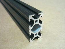80/20 Inc 1 x 2 T-Slot Aluminum Extrusion 10 Series 1020 x 24 Black H1-1