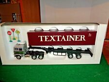 Shinsei Mini Power Freight liner C.O.E  Tractor Trailer with Container 1/53