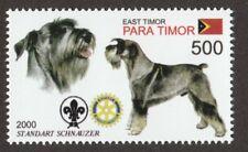 Standard Schnauzer * Int'l Dog Stamp Art * Great Gift Idea *
