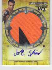 2013 Topps UFC Bloodlines UFC 161 Jake Shields Auto Fight Mat Relic S/N 25/25