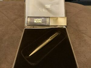 Vintage Mont Blanc Meisterstruck Pen 50+ Years Old W Case & Int. Guarantee