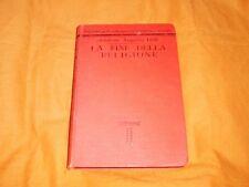 senatore augusto dide la fine della religione 1911
