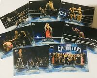 2019 TOPPS WWE WOMEN'S DIVISION WRESTLING EVOLUTION WE 1-10 U PICK WHAT U NEED