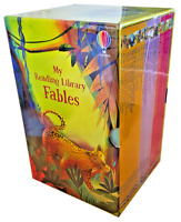 NEW Usborne My Reading Library Fables 30 Books Collection Kids Gift Boxed Set!