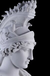 Marble Bust of Roma, Classical Sculpture, Gift, Art, Ornament